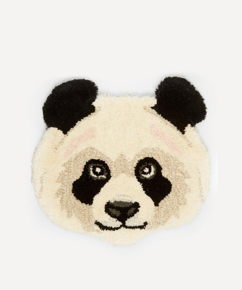 Doing Goods - Panda Head Rug