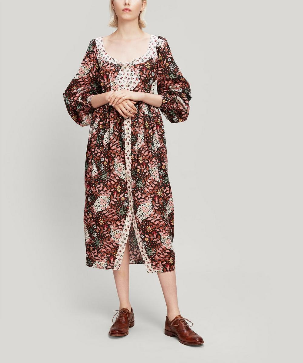 Liberty - Valentine Tana Lawn™ Cotton Puff Sleeve Dress