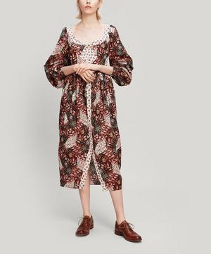 Valentine Tana Lawn™ Cotton Puff Sleeve Dress