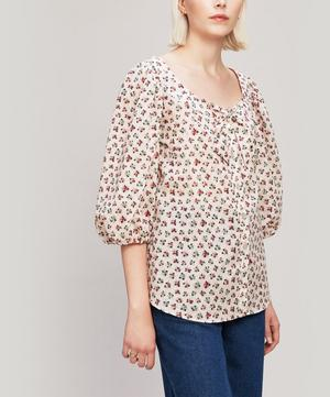 Baillie Tana Lawn™ Cotton Puff Sleeve Blouse
