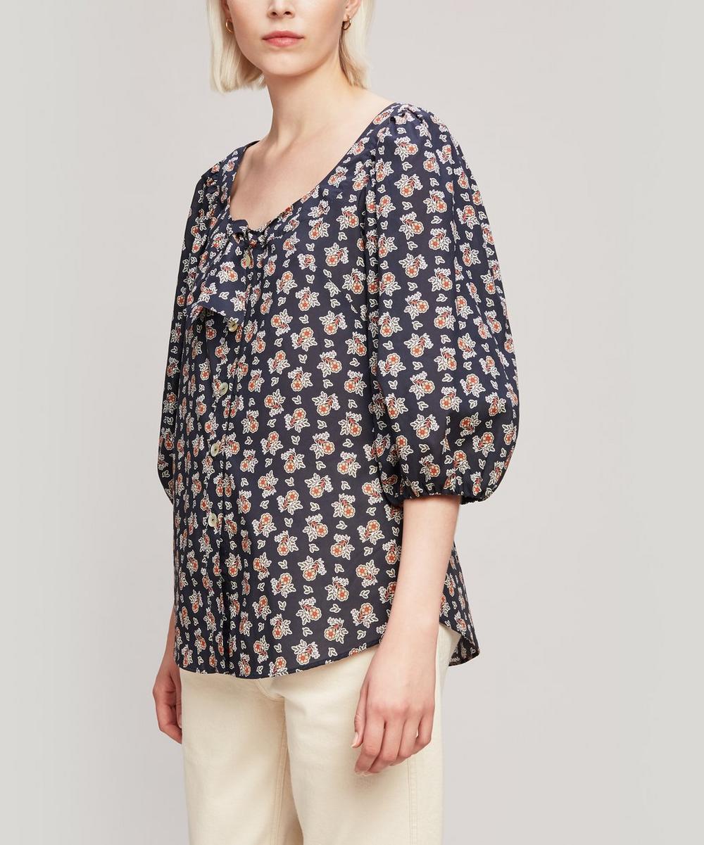 Liberty - Baillie Tana Lawn™ Cotton Puff Sleeve Blouse