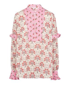 Mixed Print Tana Lawn™ Cotton Smock Blouse