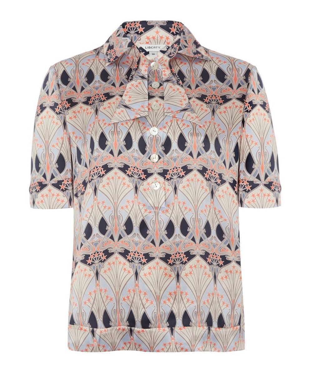Liberty - Étoile de Mer Silk Satin Shirt