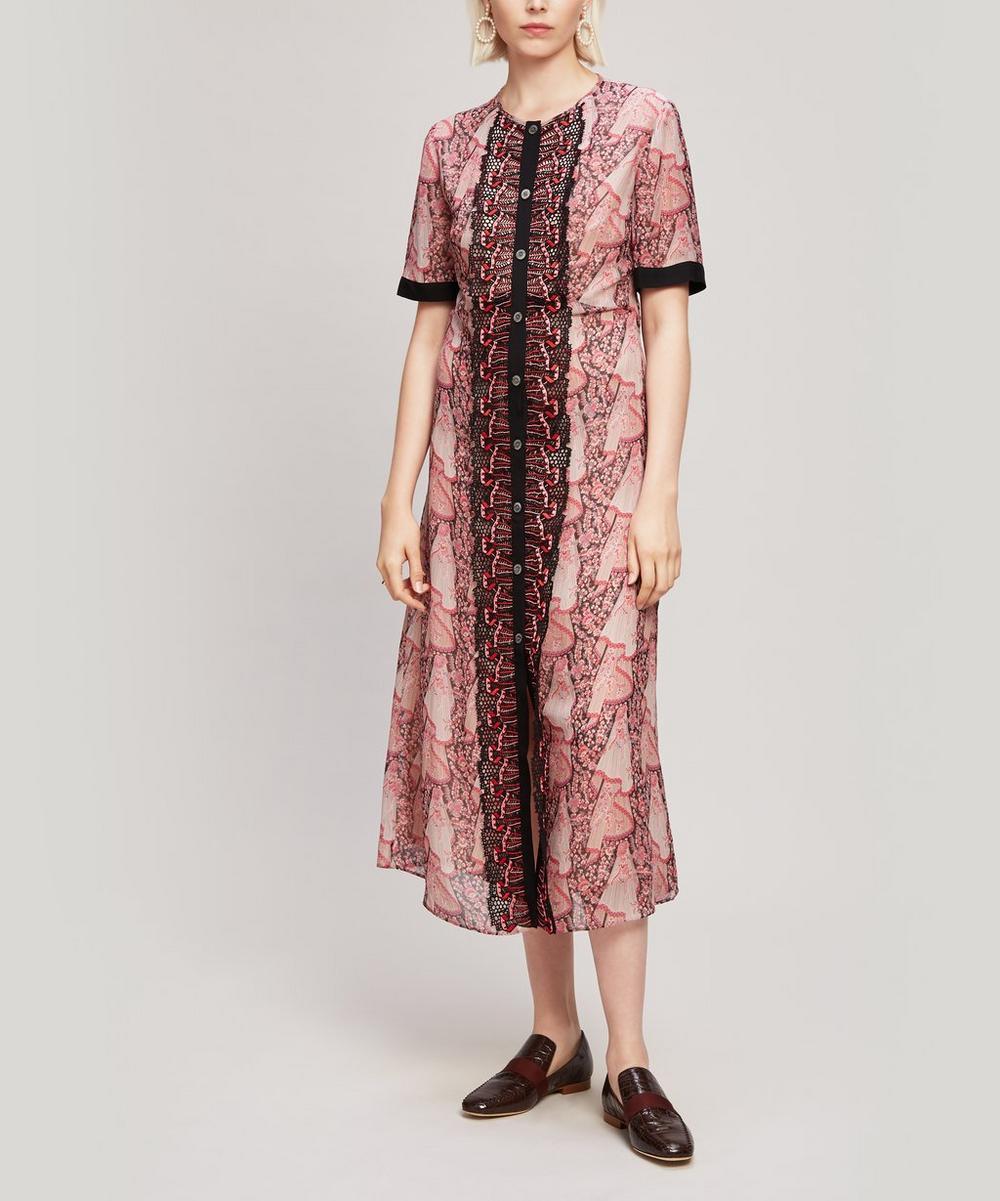 Liberty - Dora Silk Georgette Tea Dress