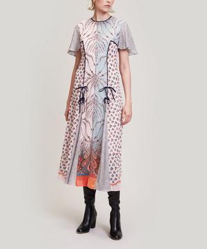 Vita Georgette Midi Dress