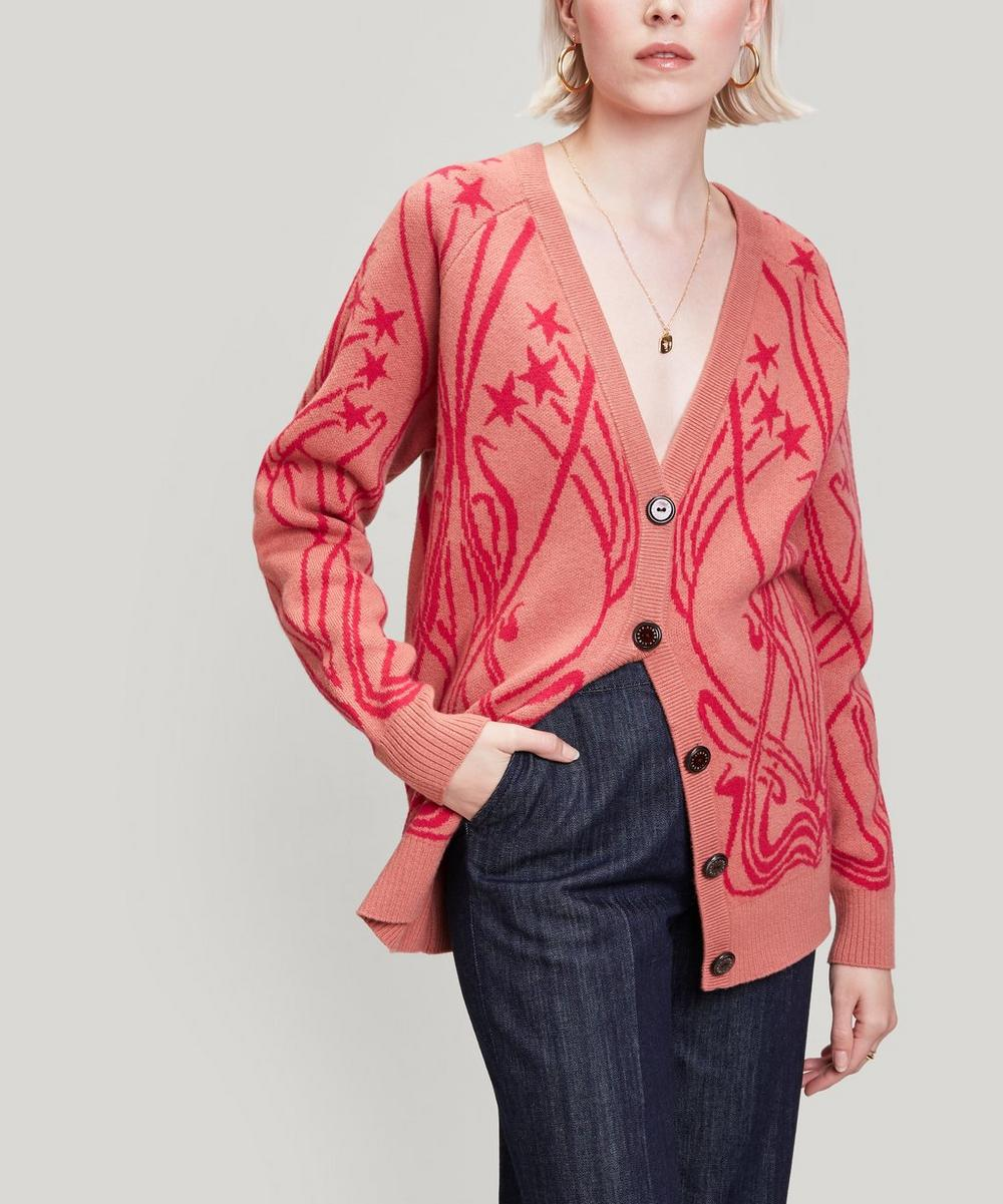 Liberty - Ianthe Knit Merino Wool Cardigan