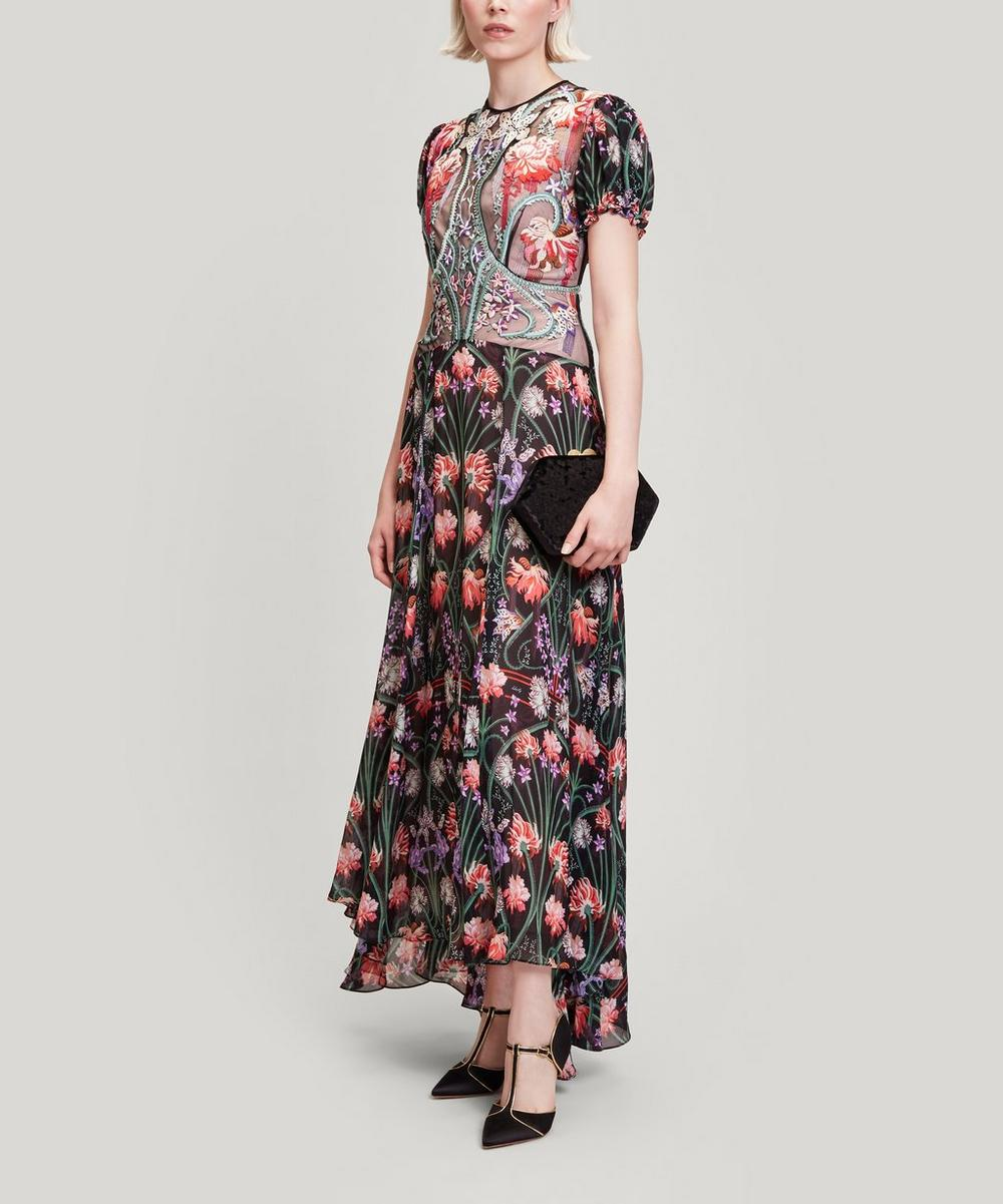 Liberty - Adrienne Virginia Embroidered Gown