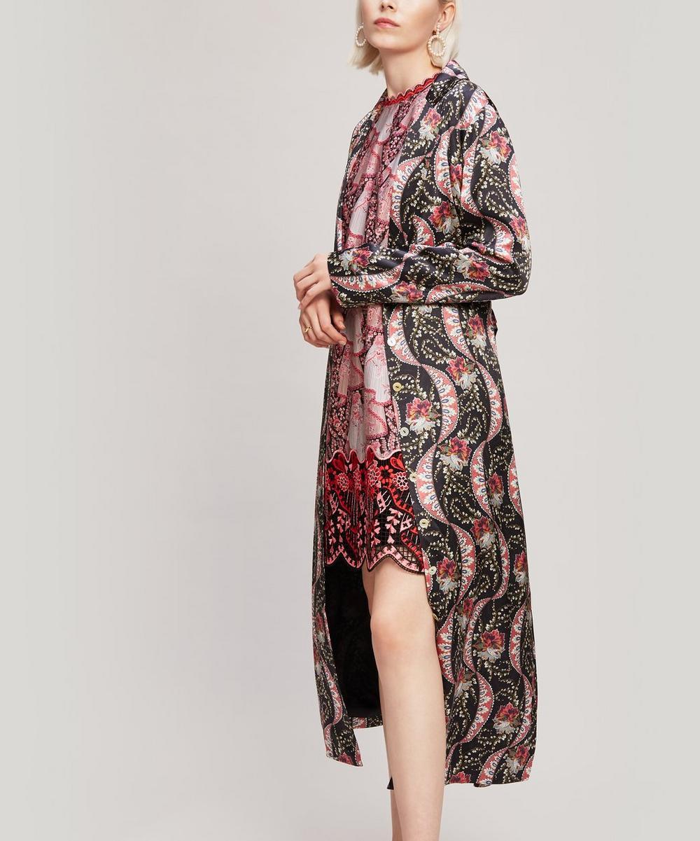 Liberty - Nocturne Rita Silk Satin Dress Coat