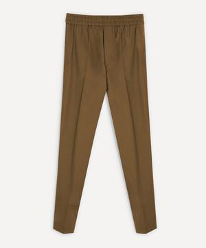 Elasticated Cotton Trousers