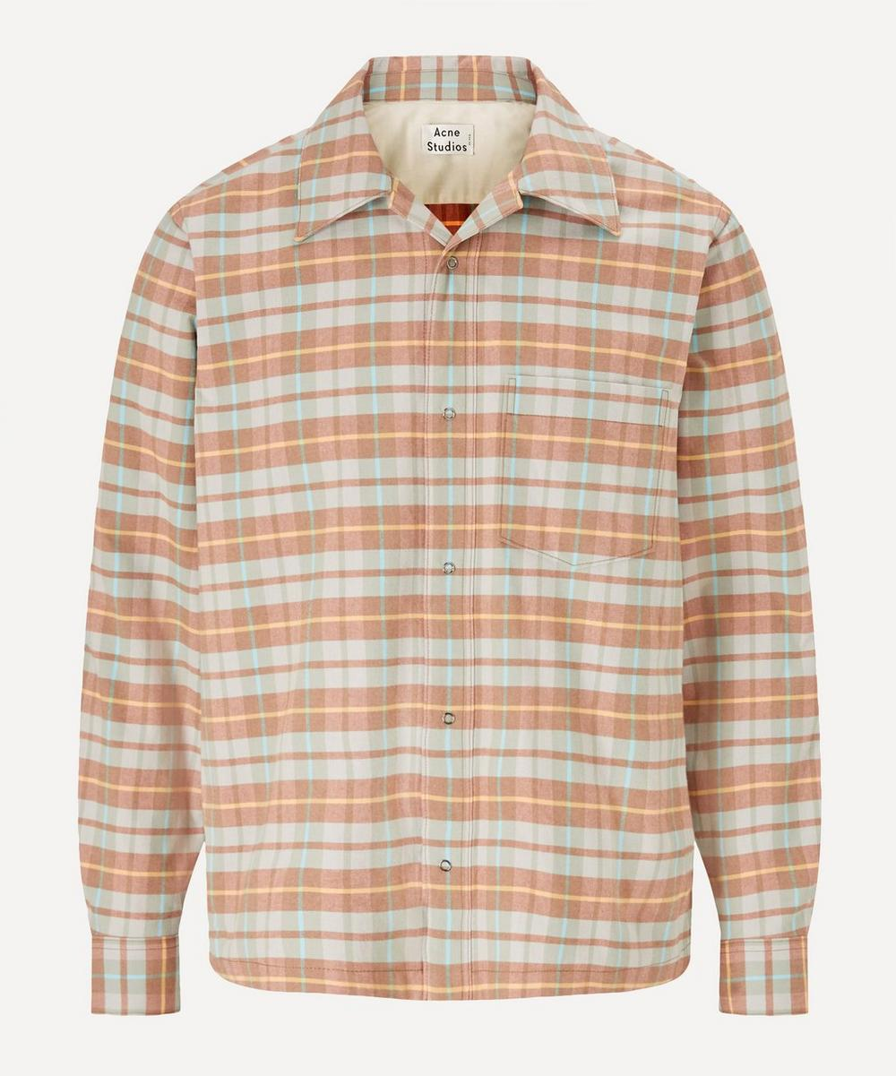 Acne Studios - Checked Flannel Shirt