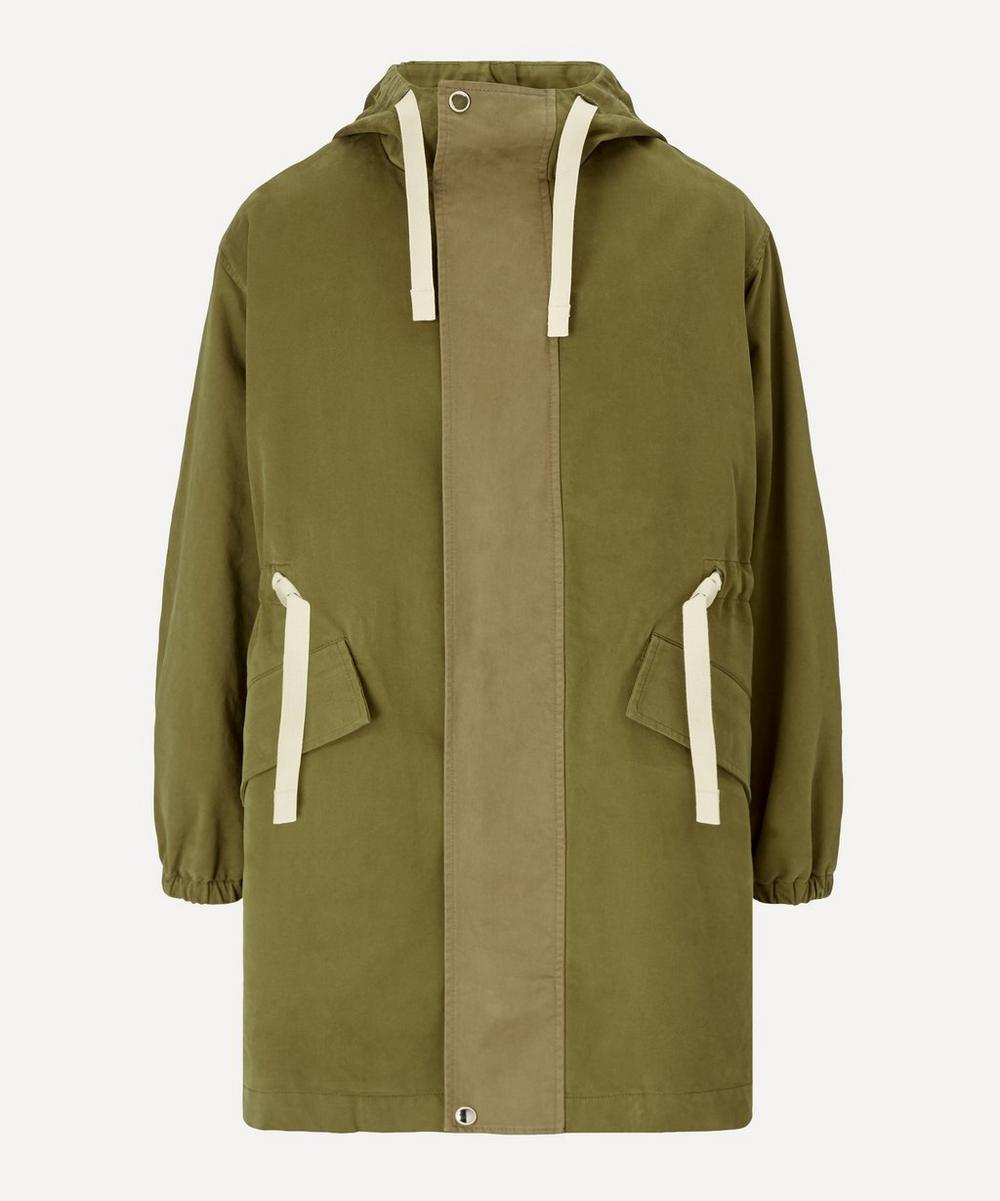 Acne Studios - Washed Twill Parka Coat