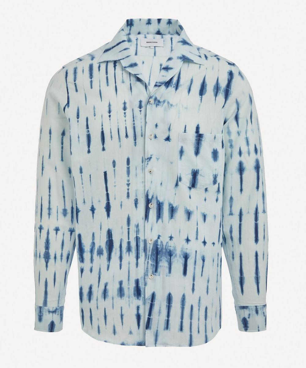 Nanushka - Lars Tie-Dye Camp Collar Shirt