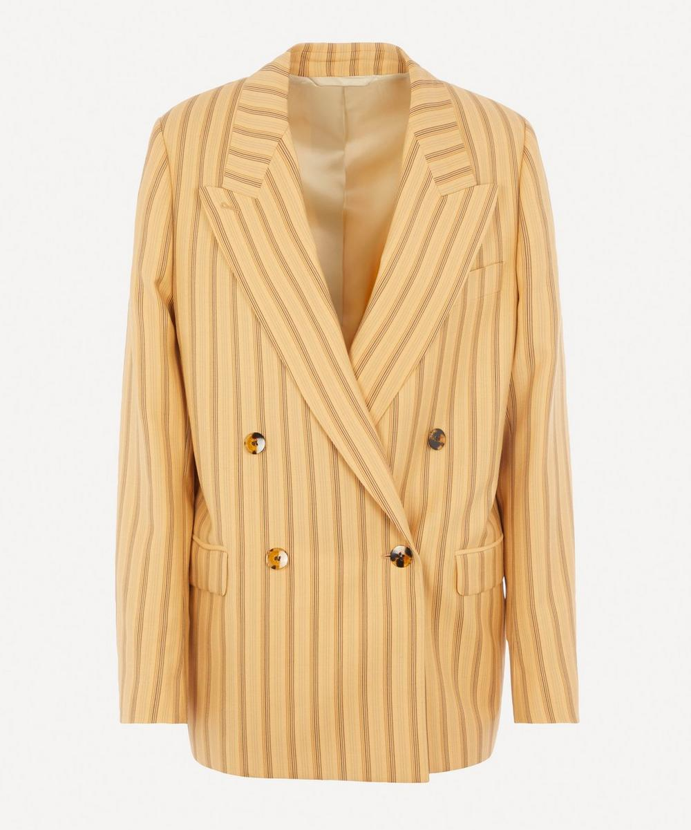 Acne Studios - Double-Breasted Pinstripe Suit Jacket