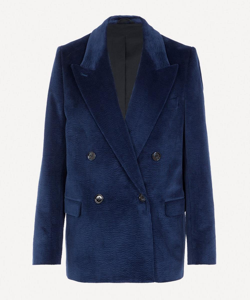 Acne Studios - Double-Breasted Corduroy Suit Jacket