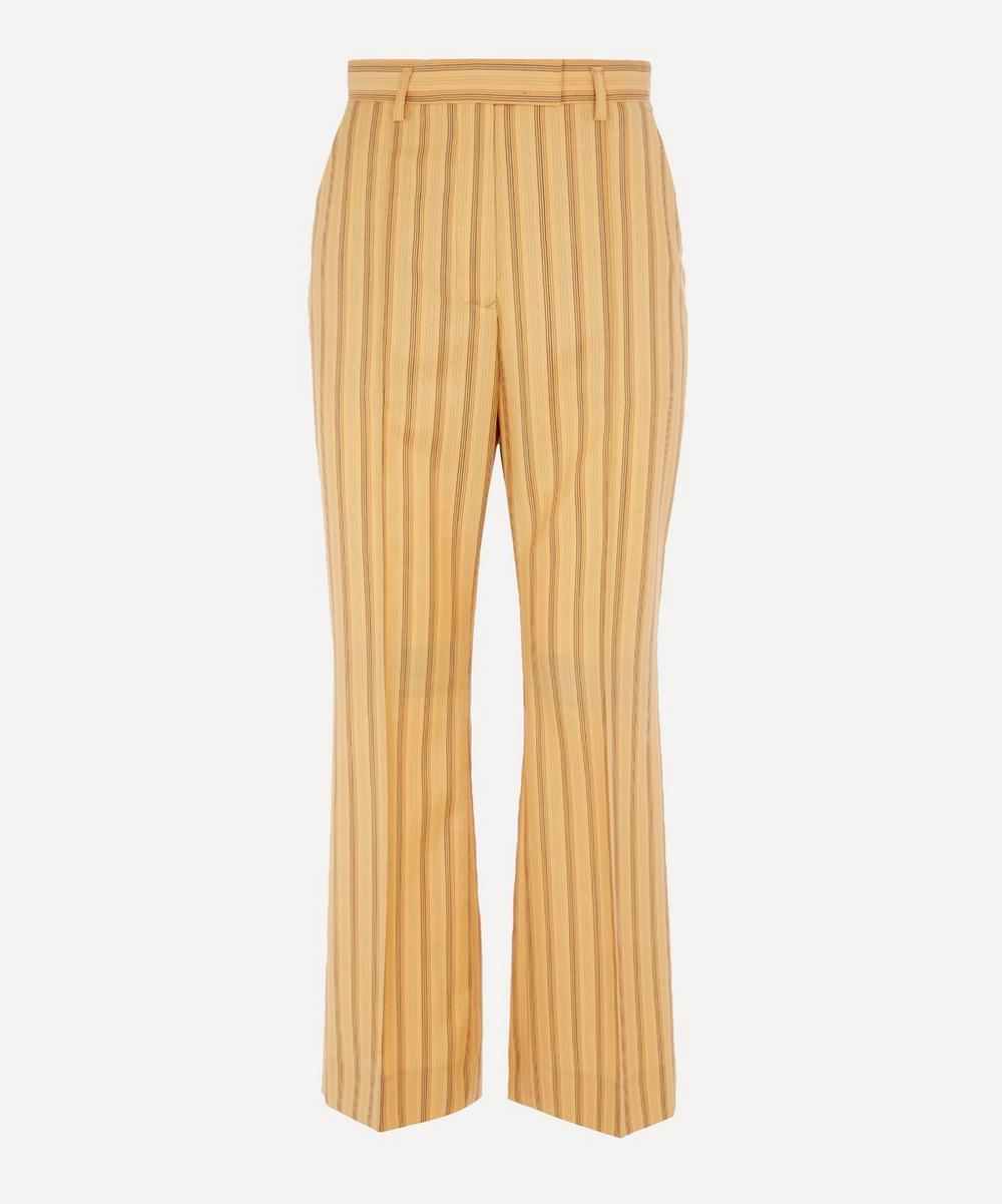 Acne Studios - Kick Flare Pinstripe Trousers