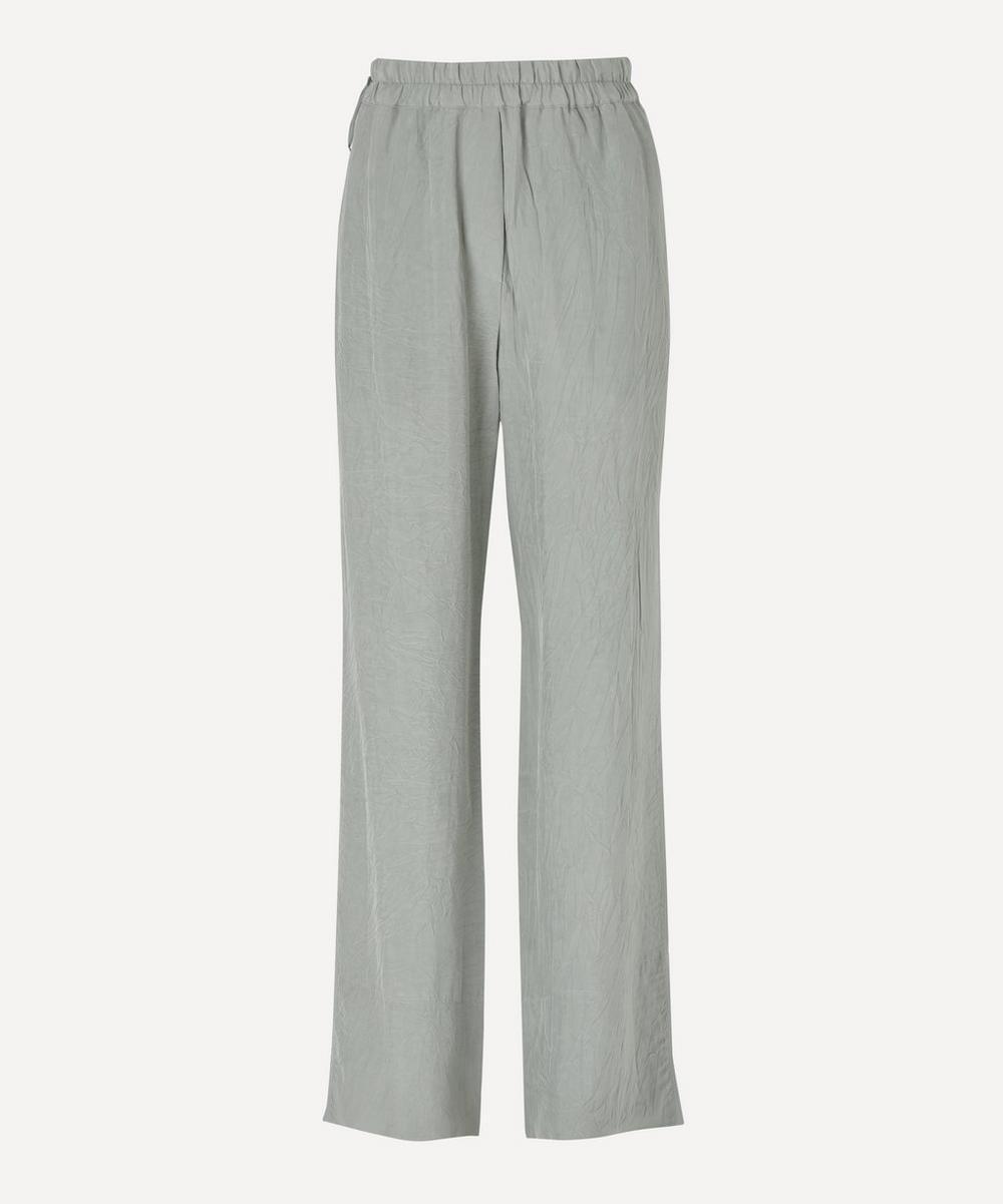 Acne Studios - Crinkled Straight-Leg Trousers