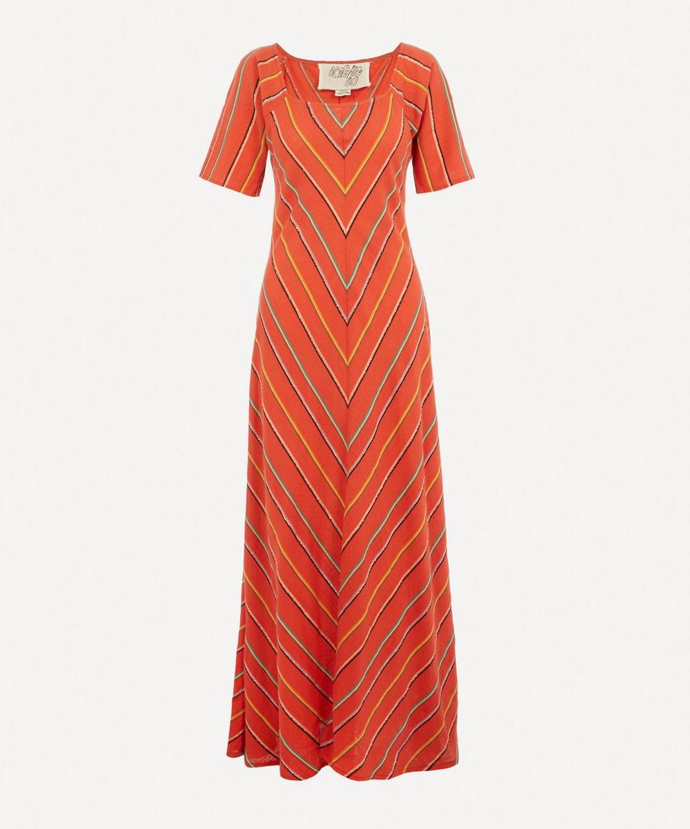 Ace and Jig - Jamie Square-Neck Maxi-Dress