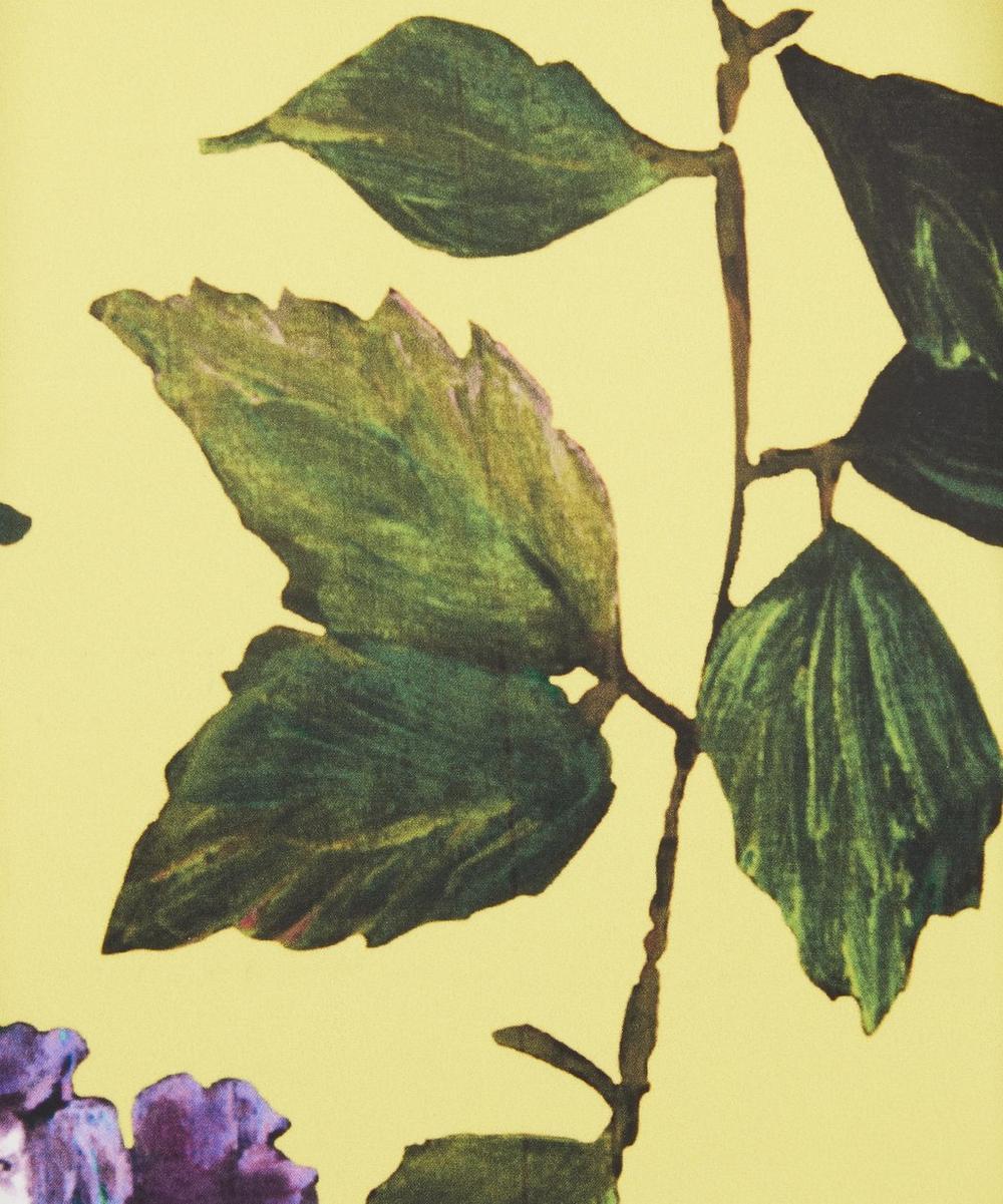 Ungaro - Abstract Hydrangea Silk Crepe Satin