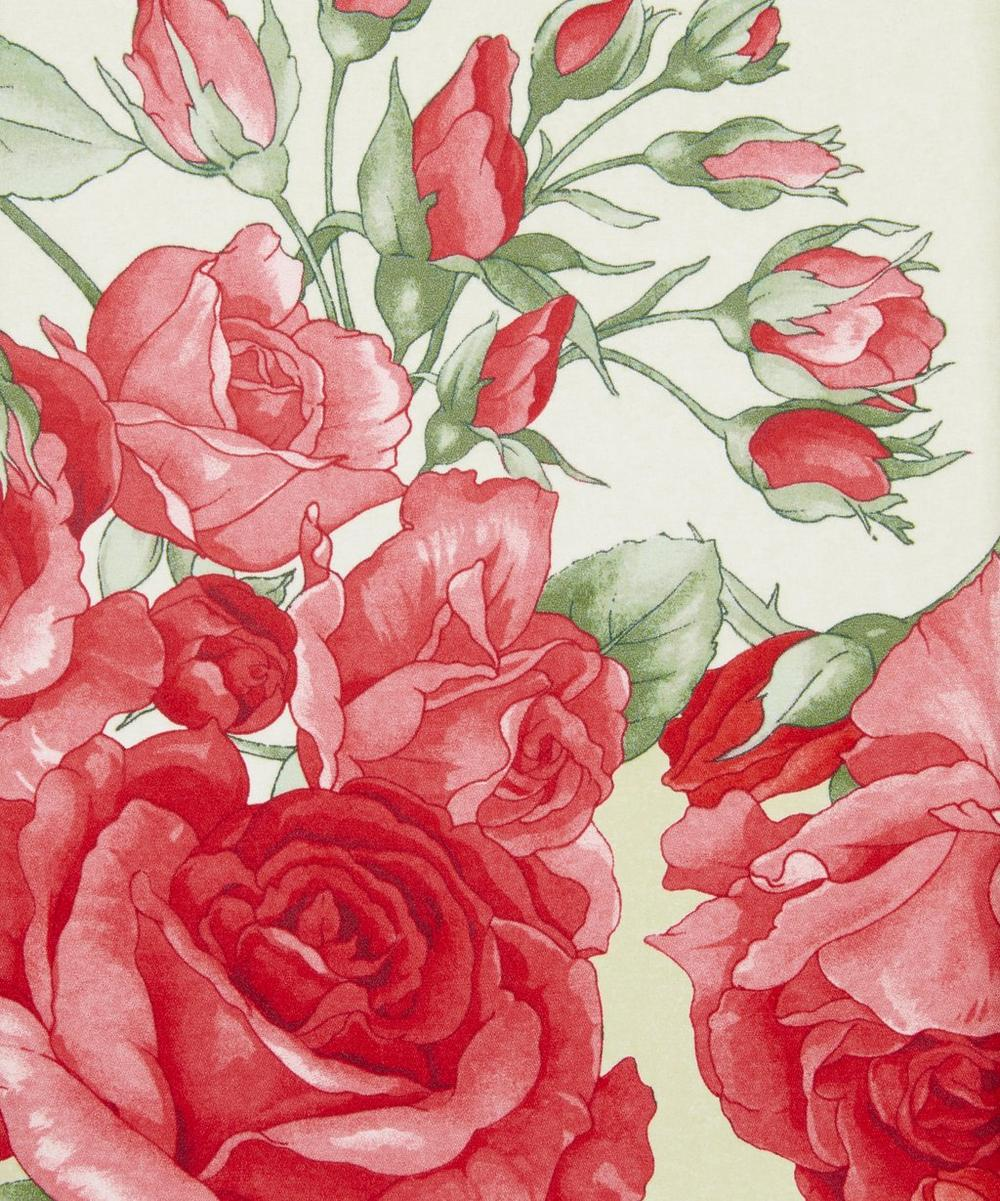 Ungaro - Large Roses Silk Crepe Satin