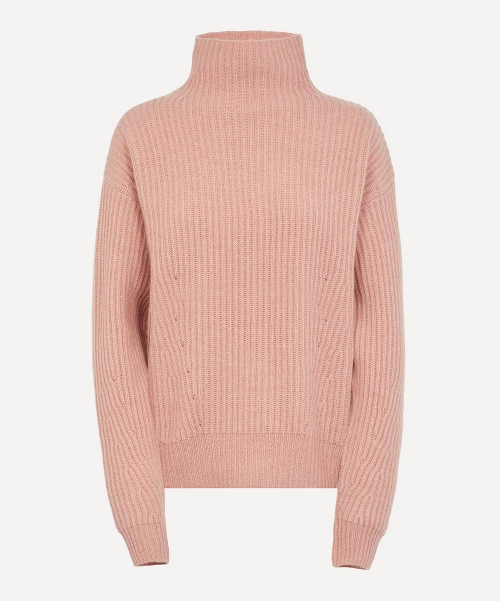 Le Kasha - High Neck Ribbed Jumper