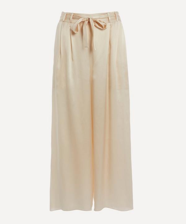 Le Kasha - Cropped Silk Trousers