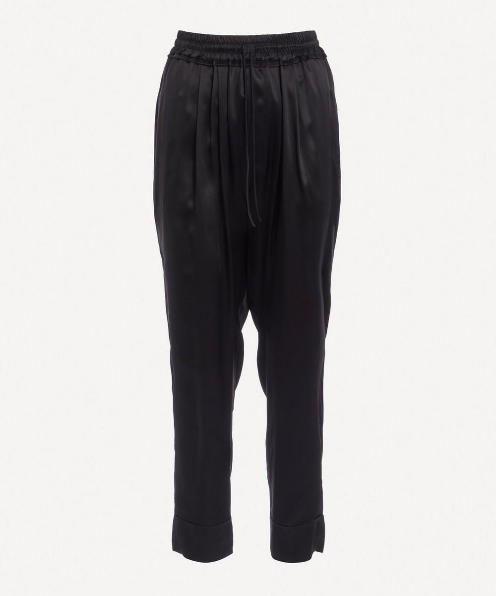 Le Kasha - Tapered Silk Trousers