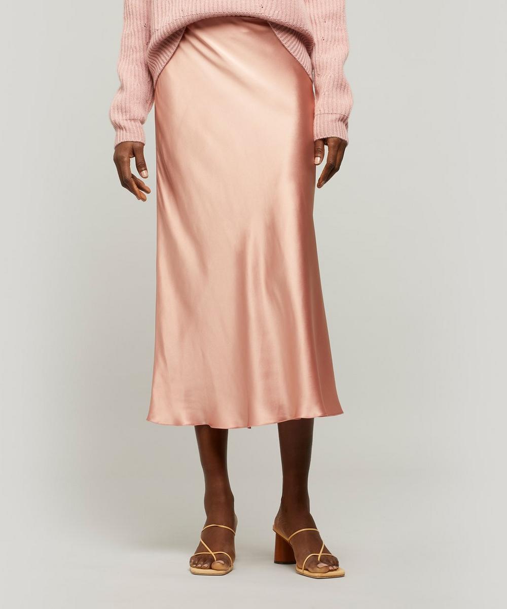 Le Kasha - Silk Slip Midi-Skirt