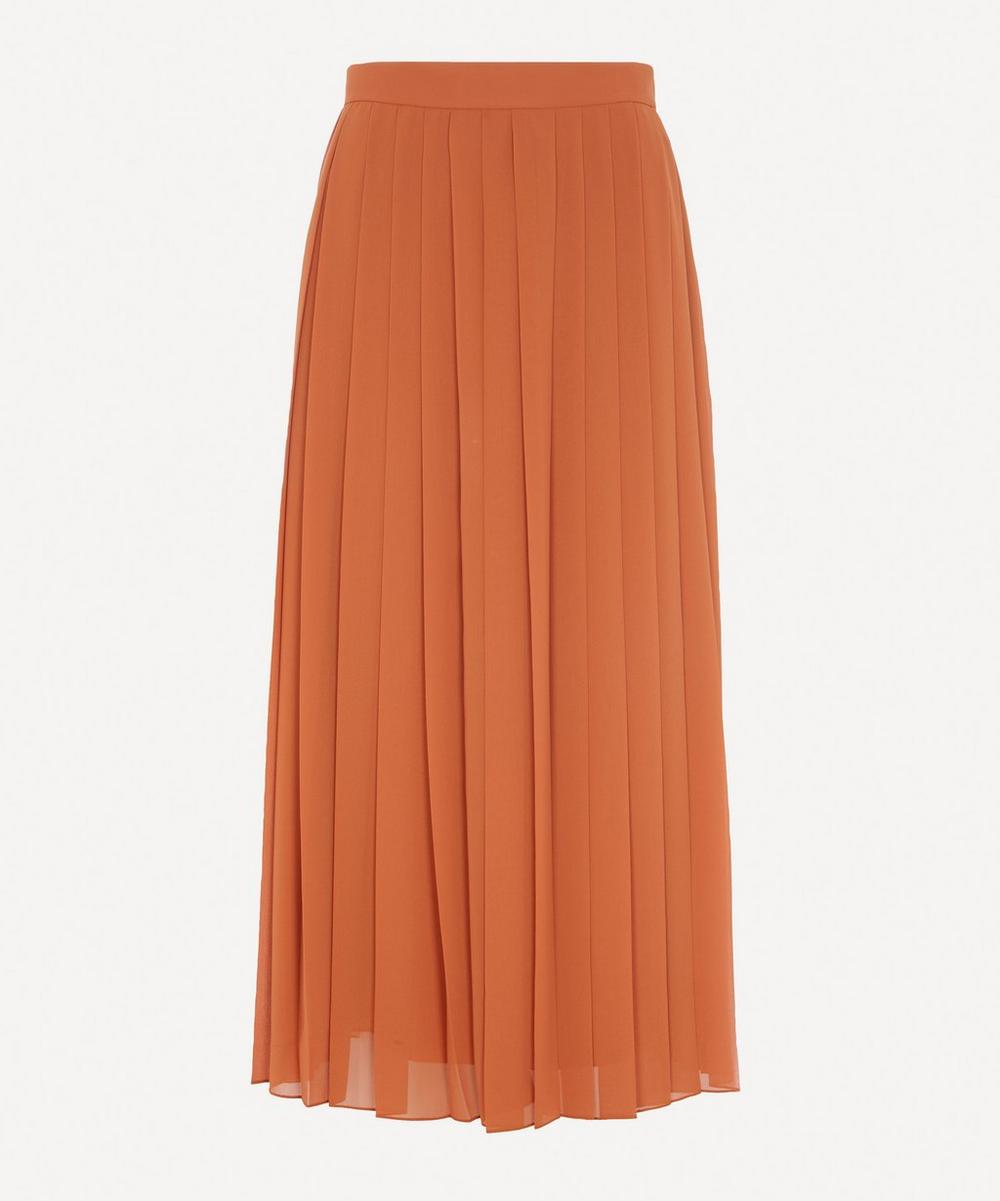 The Row - Magda Long Pleated Skirt