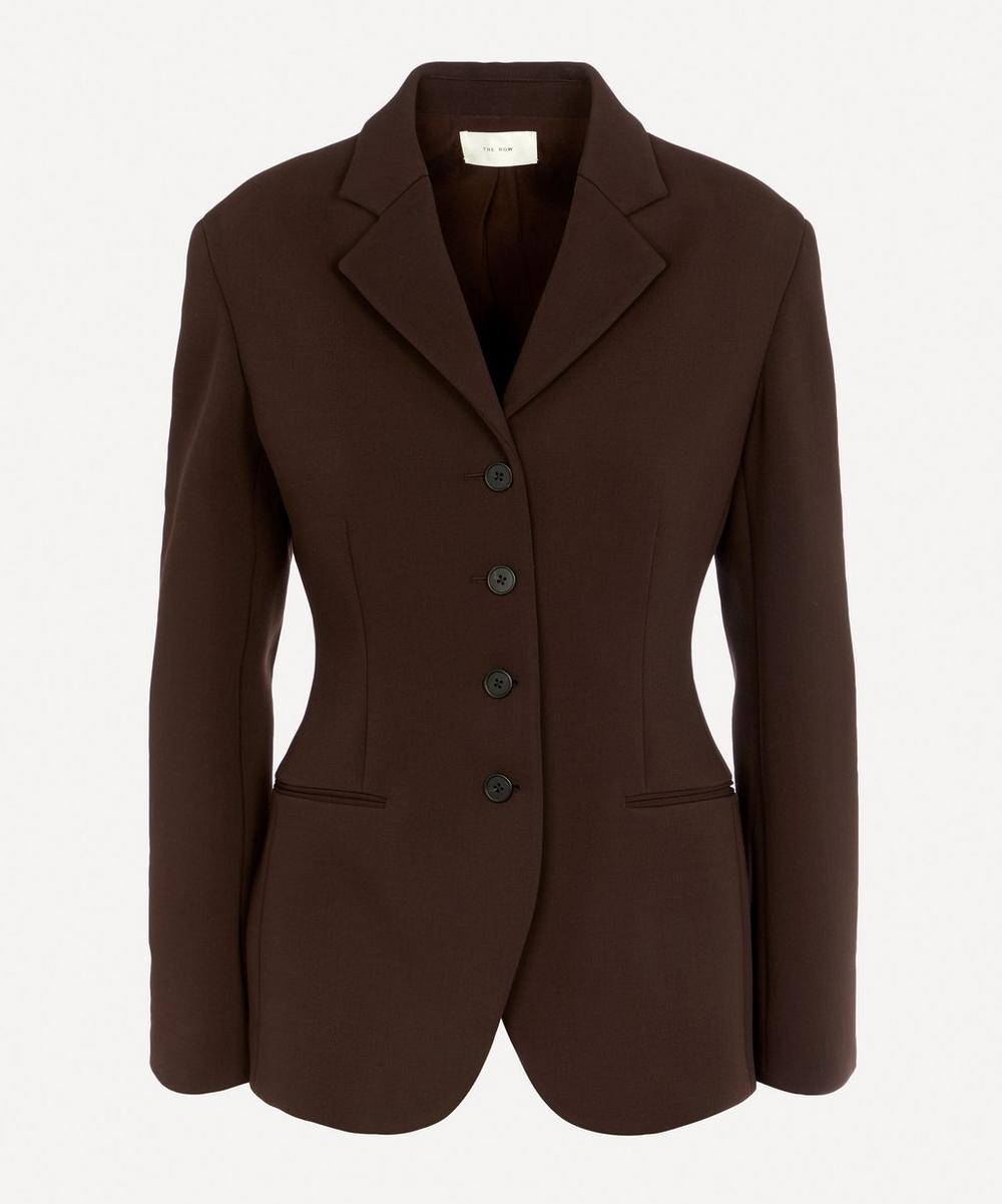 The Row - Risa Tailored Single-Breasted Jacket