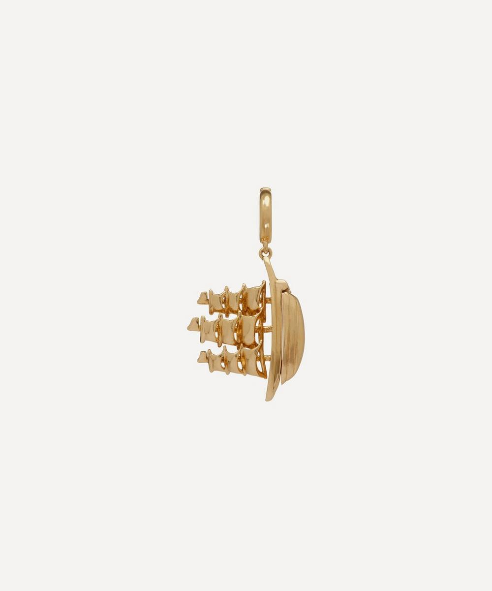 Annoushka - x The Vampire's Wife 18ct Gold 'The Ship Song' Charm