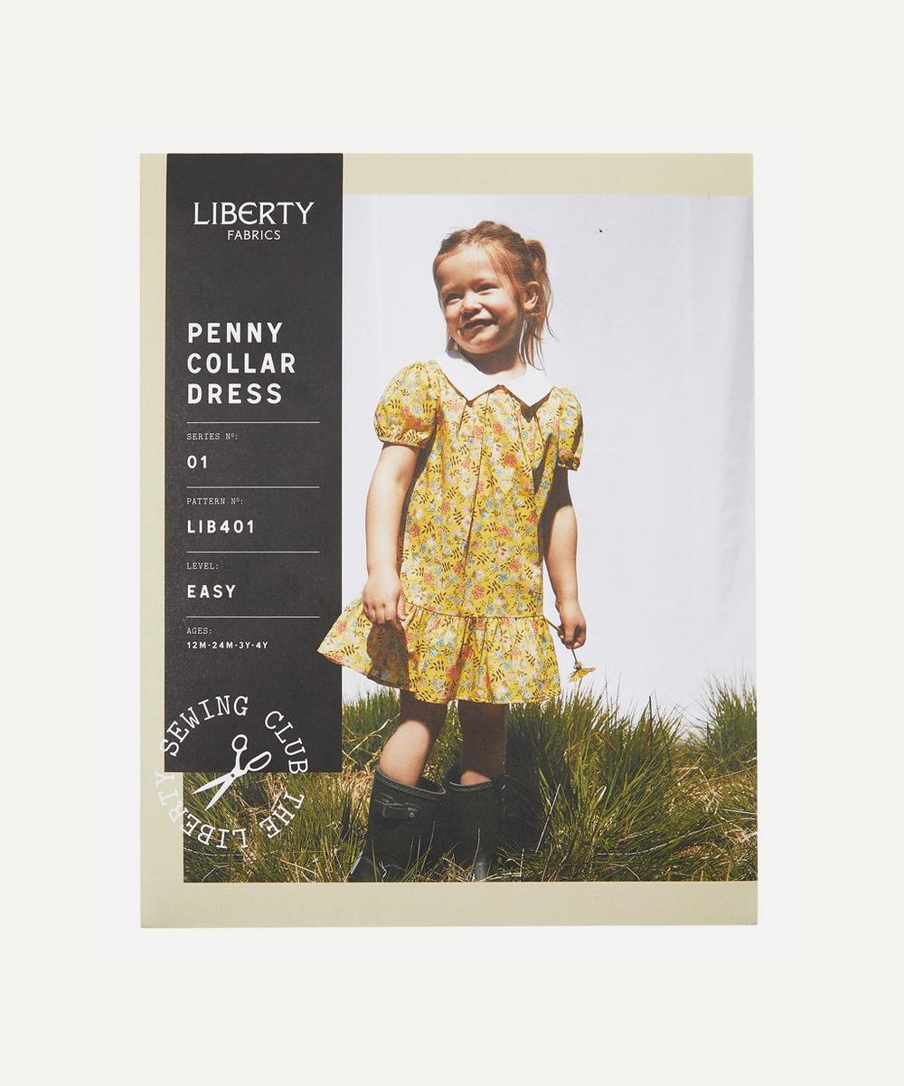 Liberty Fabrics - Penny Collar Dress Sewing Pattern
