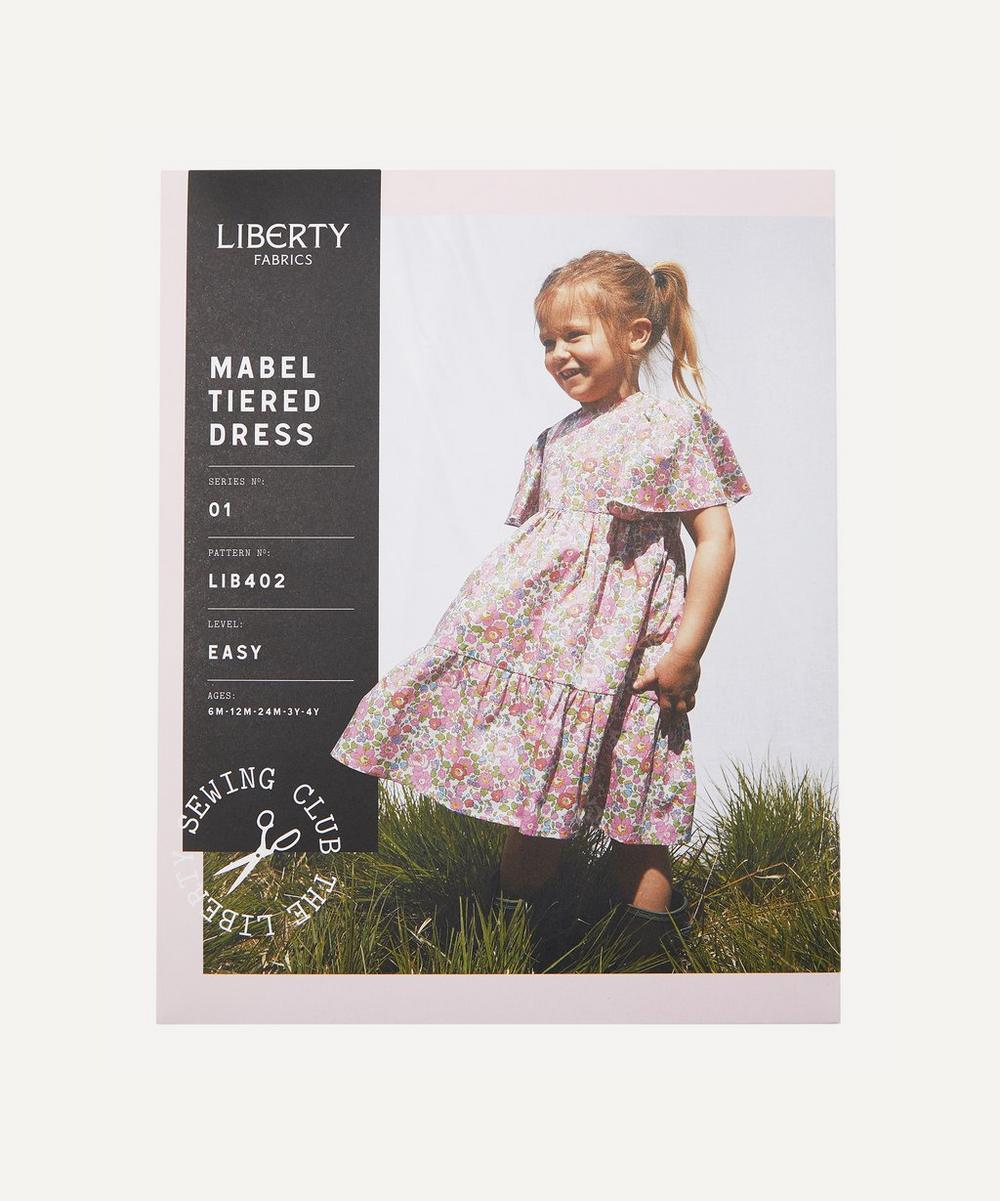 Liberty Fabrics - Mabel Tiered Dress Sewing Pattern
