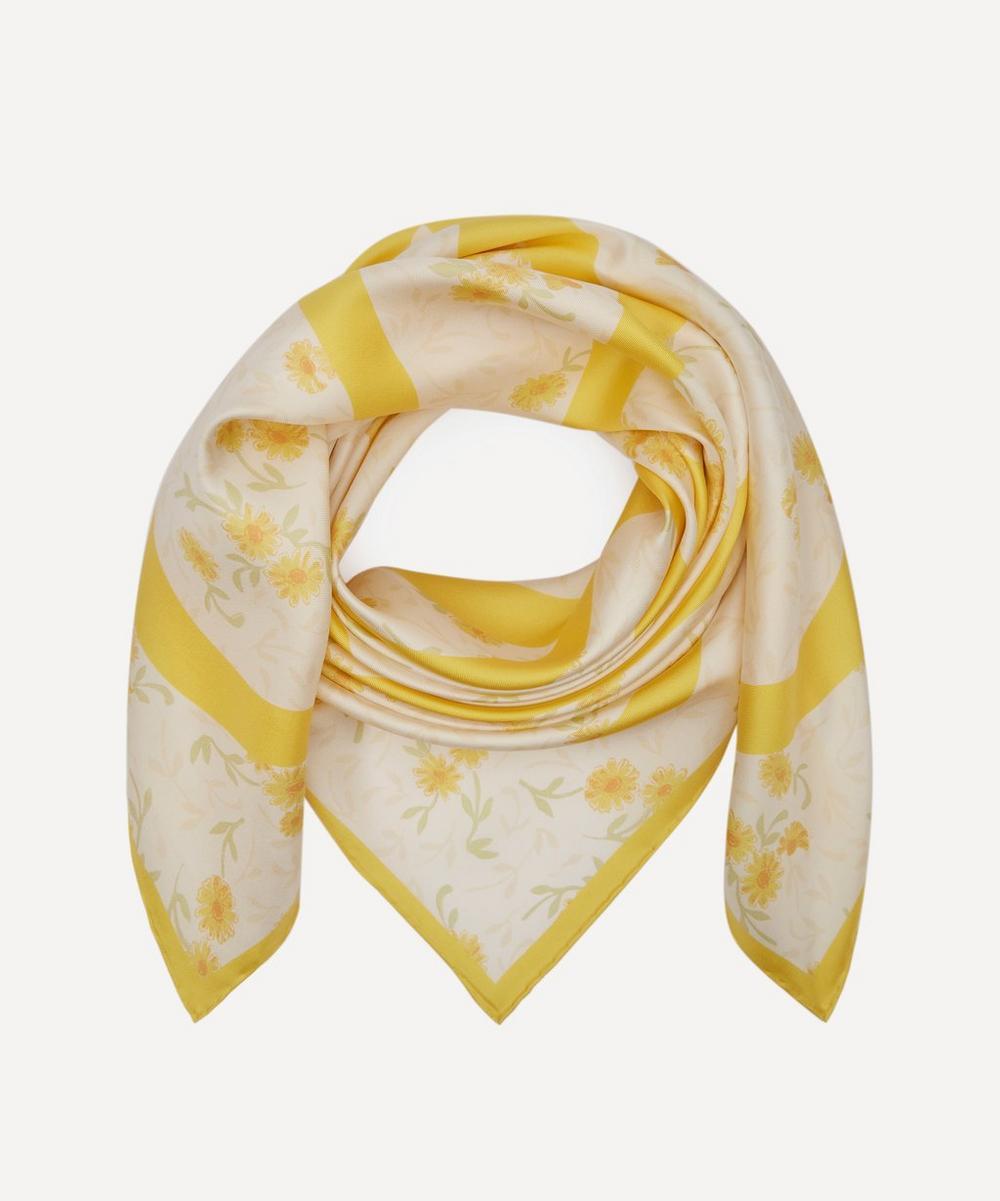 Loewe - Flower Print Silk Scarf