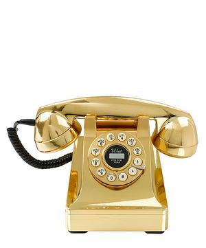 Series 302 Gold Telephone