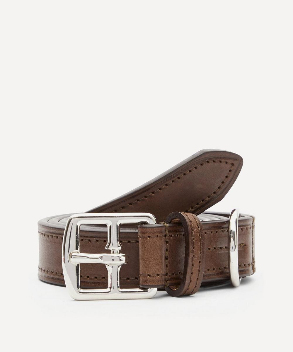 Anderson's - Slim Leather Belt