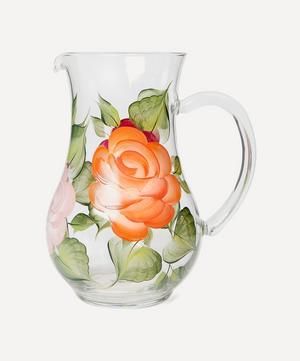 Large Hand-Painted 1.3 Litre Jug