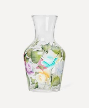 Hand-Painted Glass Litre Vase