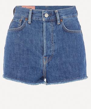 1990 Raw Hem Denim Shorts