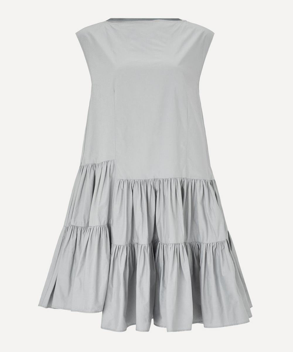 MM6 Maison Margiela - Tiered Poplin Midi-Dress