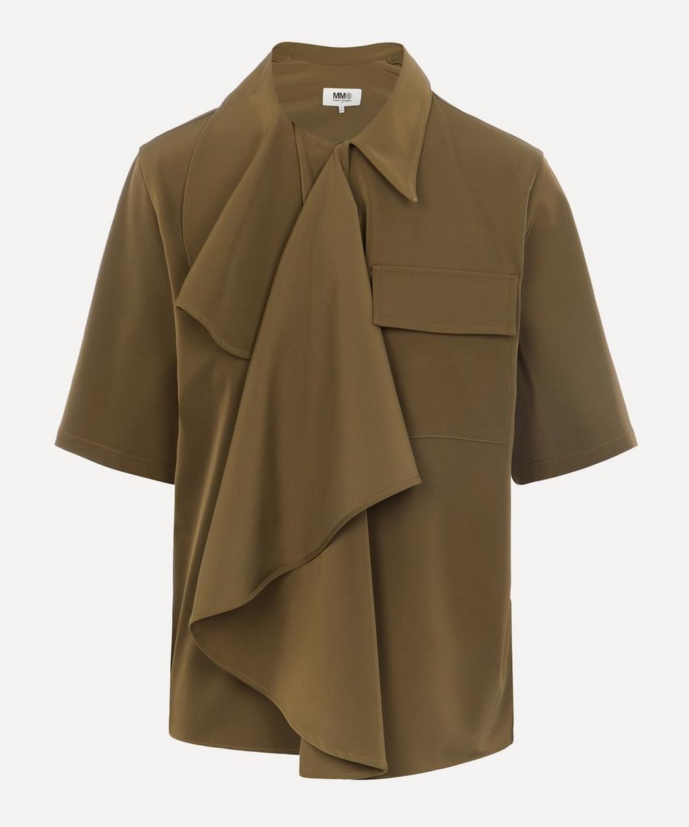 MM6 Maison Margiela - Draped Shirt