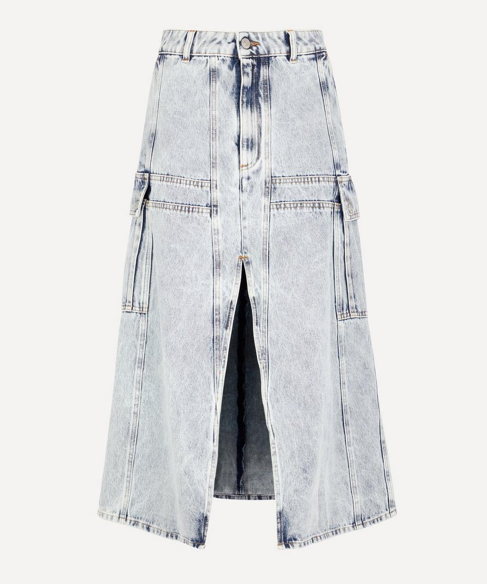 MM6 Maison Margiela - 80s Snow Denim Skirt