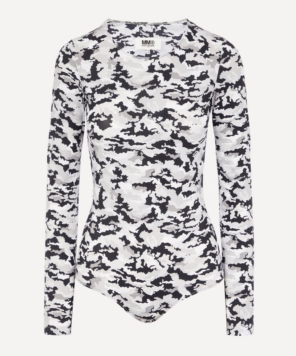 MM6 Maison Margiela - Camouflage Bodysuit