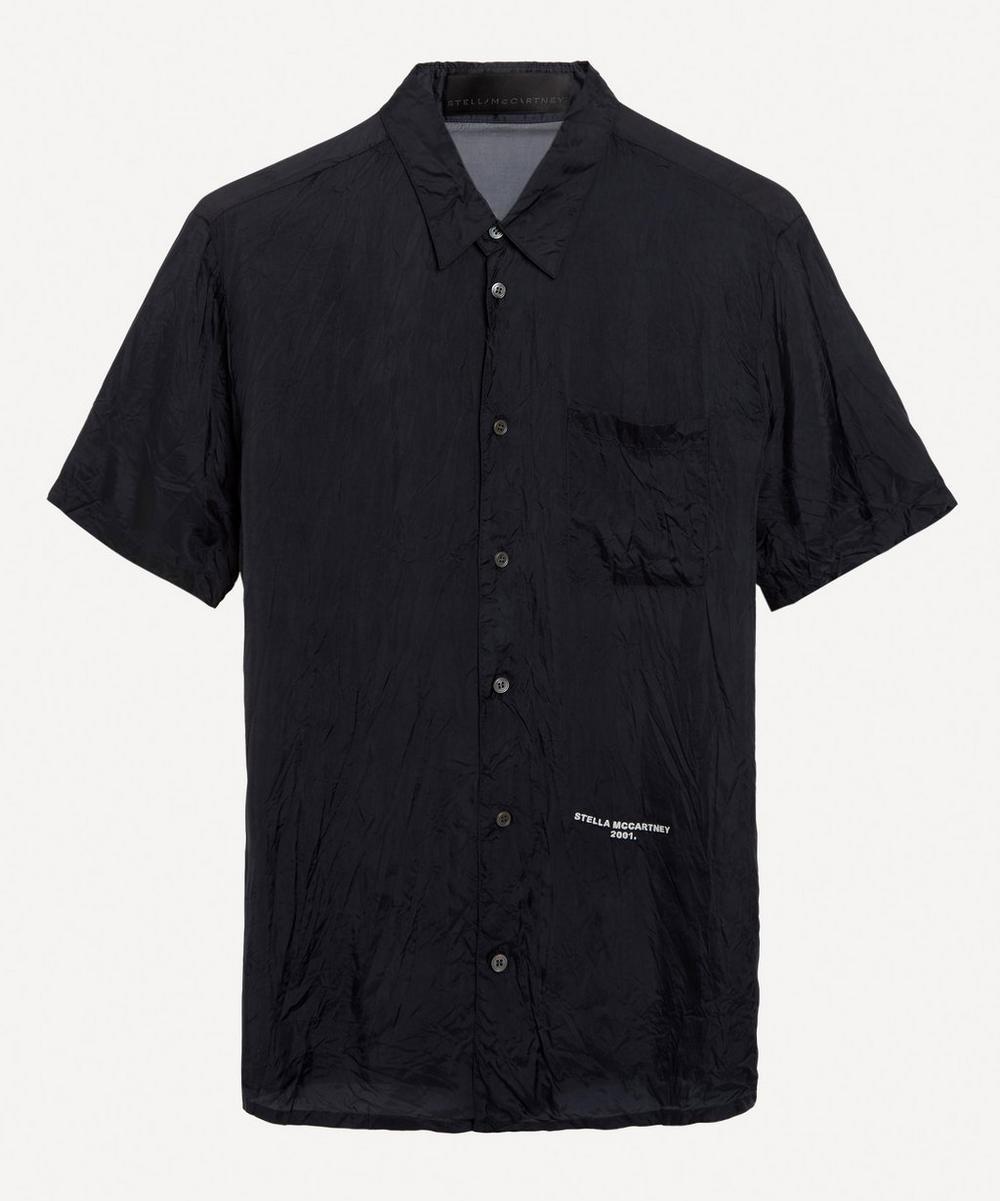 Stella McCartney - Small Logo Crinkle Shirt