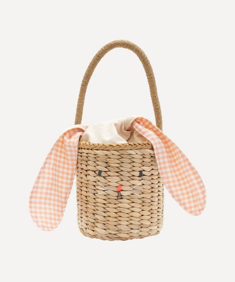 Meri Meri - Bunny Woven Straw Bag