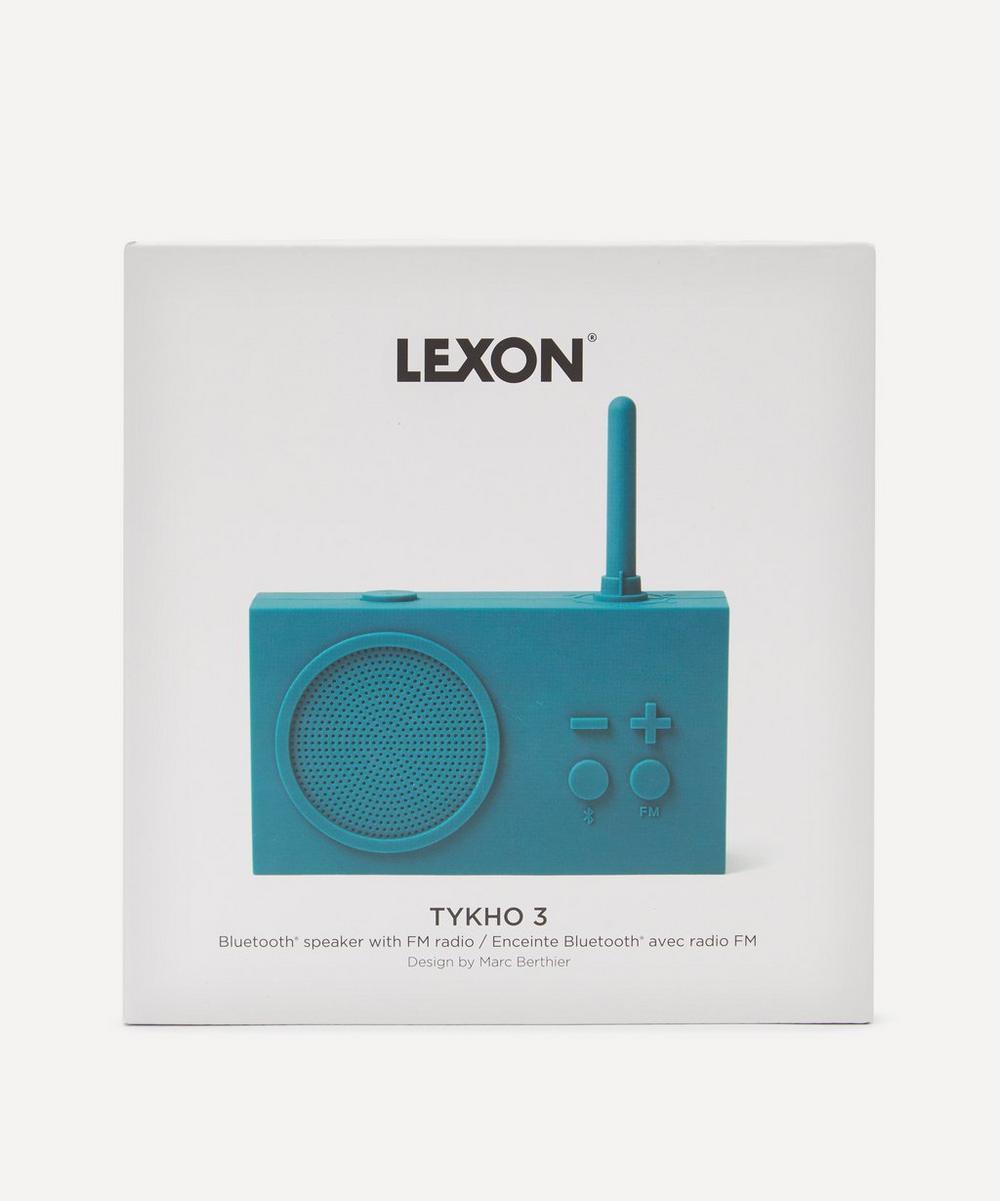Lexon - Tykho 3 Rubber Radio and Bluetooth Speaker