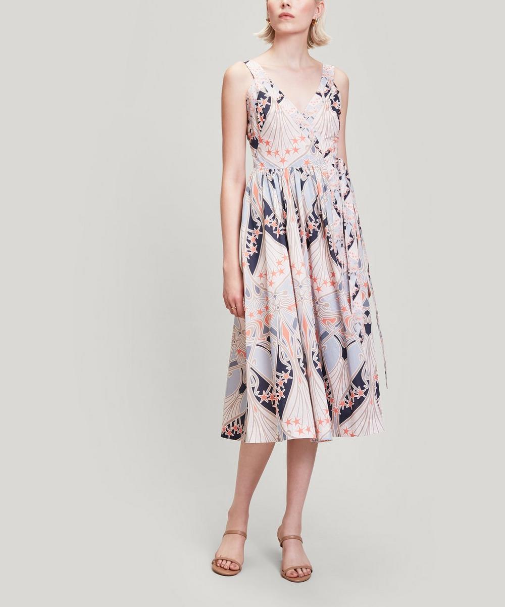 Liberty - Ianthe Star Tana Lawn™ Cotton Wrap Dress