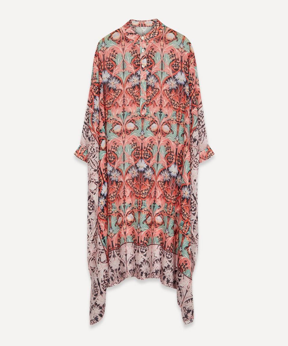 Liberty - May Silk Chiffon Kaftan