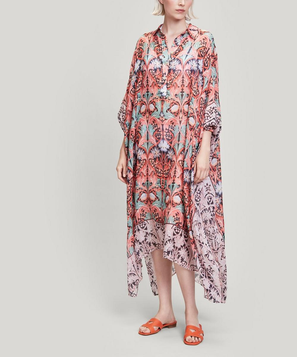 Liberty - May Silk Chiffon Kaftan