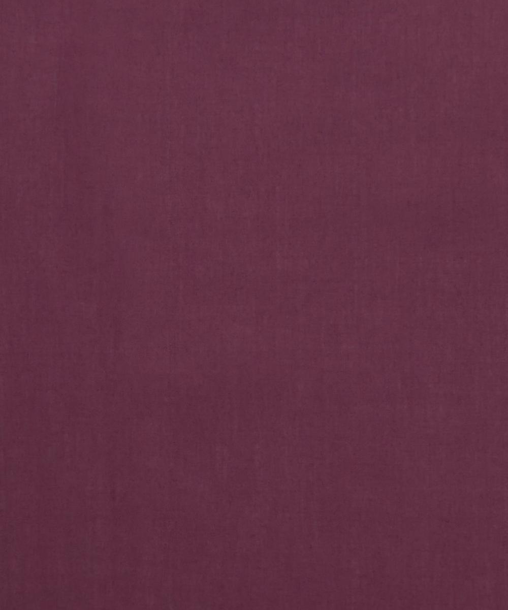 Liberty Fabrics - Aubergine Plain Tana Lawn™ Cotton