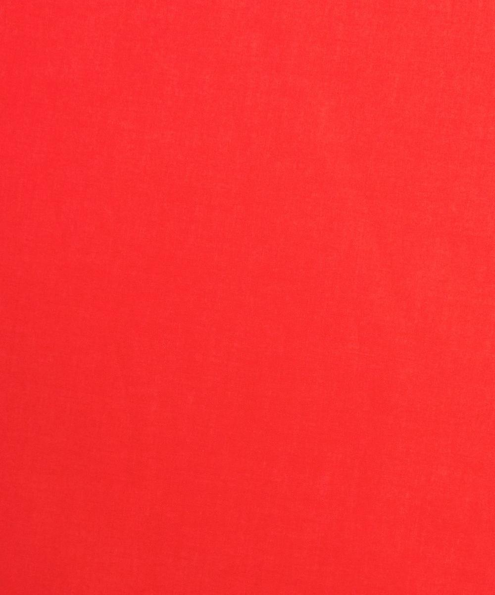 Liberty Fabrics - Poppy Red Plain Tana Lawn™ Cotton